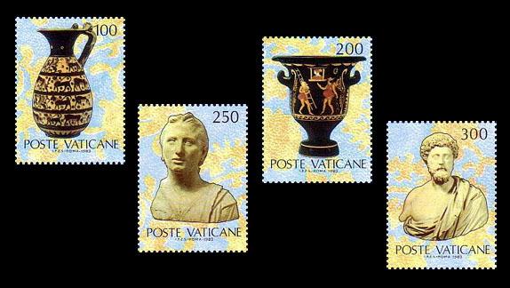 francobolli del vaticano
