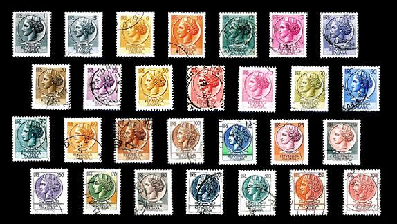 francobolli siracusana