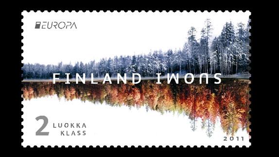 francobollo della finlandia